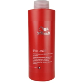 Wella Professionals Brilliance Conditioner For Coarse, Colored Hair  1000 ml