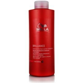 Wella Professionals Brilliance kondicionér pro jemné, barvené vlasy  1000 ml