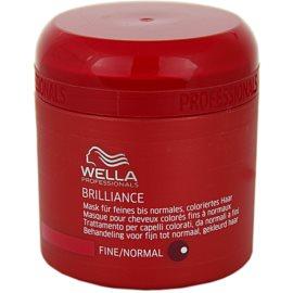 Wella Professionals Brilliance маска  за фина боядисана коса  150 мл.