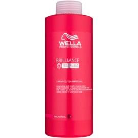 Wella Professionals Brilliance szampon do delikatnych włosów farbowanych  1000 ml