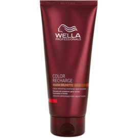 Wella Professionals Color Recharge Conditioner voor Opwekking van de Haarkleur  Tint  Warm Brunette  200 ml