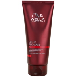 Wella Professionals Color Recharge Conditioner voor Opwekking van de Haarkleur  Tint  Red 200 ml
