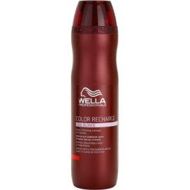 Wella Professionals Color Recharge fialový šampon pro studené odstíny blond  250 ml