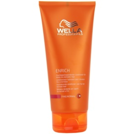 Wella Professionals Enrich acondicionador para cabello normal  200 ml