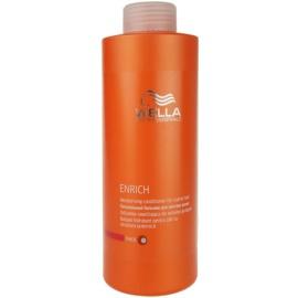 Wella Professionals Enrich hydratační kondicionér pro silné, hrubé a suché vlasy  1000 ml