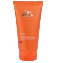 Wella Professionals Enrich cuidado iluminador e suavizante  para cabelos crespos e inflexíveis  150 ml
