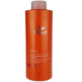 Wella Professionals Enrich hydratační šampon pro silné, hrubé a suché vlasy  1000 ml
