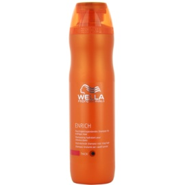 Wella Professionals Enrich sampon hidratant cu fir gros, aspru și uscat  250 ml