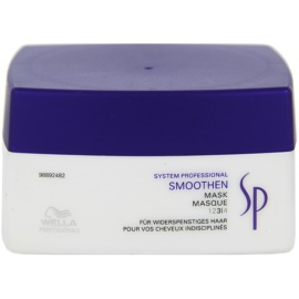Wella Professionals SP Smoothen máscara para cabelos crespos e inflexíveis  200 ml