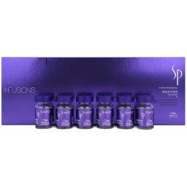 Wella Professionals SP Smoothen tratamiento capilar para cabello encrespado y rebelde  6x5 ml