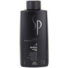 Wella Professionals SP Men освежаващ шампоан за коса и тяло  1000 мл.