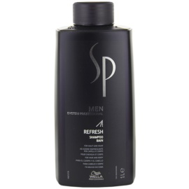 Wella Professionals SP Men Refresh Shampoo For Hair And Body  1000 ml