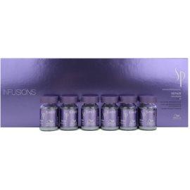 Wella Professionals SP Repair tratamento capilar para cabelos danificados e quimicamente tratados  6x5 ml