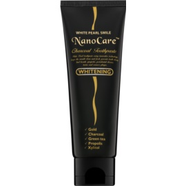 White Pearl NanoCare Whitening Toothpaste with Activated Charcoal and Nanoparticles of Gold  100 g