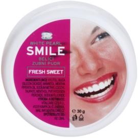 White Pearl Smile fogfehérítő púder Fresh Sweet 30 g