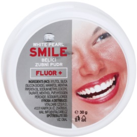 White Pearl Smile pó de clareamento dental Fluor+ 30 g