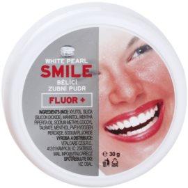 White Pearl Smile puder wybielający do zębów Fluor+ 30 g