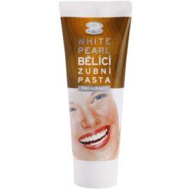 White Pearl Whitening parta de dentes branqueadora para fumadores  75 ml