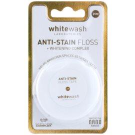 Whitewash Nano Anti-Stain Zahnseide mit bleichender Wirkung  25 m