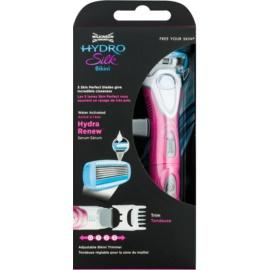 Wilkinson Sword Hydro Silk бритва + водостійкий тример для зони бікіні 2 в 1 + батарейка