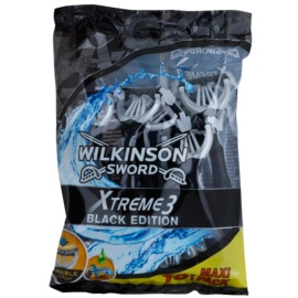 Wilkinson Sword Xtreme 3 Black Edition jednorázový holiací strojček 10 ks