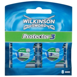 Wilkinson Sword Protector 3 náhradní břity  8 ks