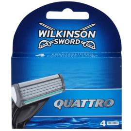 Wilkinson Sword Quattro Змінні картриджі 4 Шт