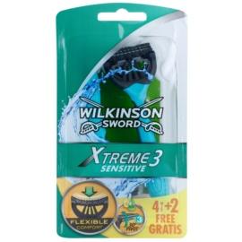 Wilkinson Sword Xtreme 3 Sensitive jednorázová holítka  6 ks
