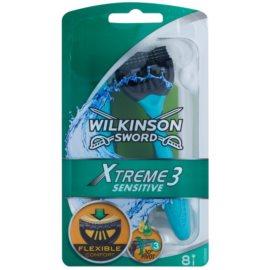 Wilkinson Sword Xtreme 3 Sensitive jednorázová holítka  8 ks