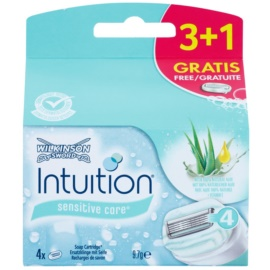 Wilkinson Sword Intuition Sensitive Care náhradní břity  4 ks