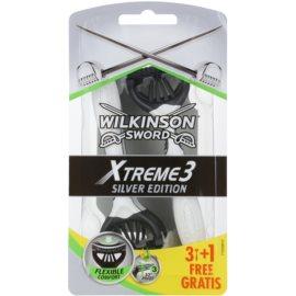 Wilkinson Sword Xtreme 3 Silver Edition jednorázová holítka  4 ks