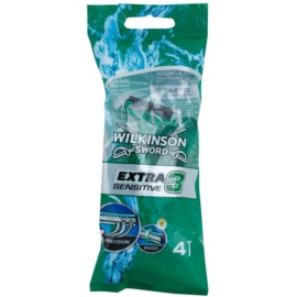 Wilkinson Sword Extra 3 Sensitive brivniki za enkratno uporabo  4 kos