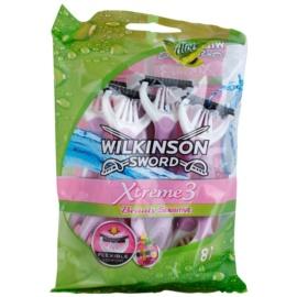 Wilkinson Sword Xtreme 3 Beauty Sensitive jednorazowe maszynki do golenia 8 szt  8 szt.