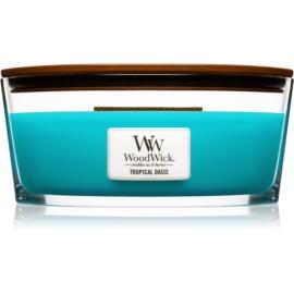Woodwick Tropical Oasis bougie parfumée 453,6 g Hearthwick