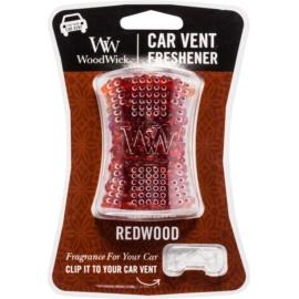 Woodwick Red Wood vůně do auta   clip
