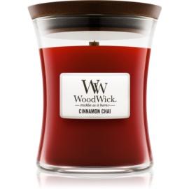 Woodwick Cinnamon Chai lumanari parfumate  275 g mediu
