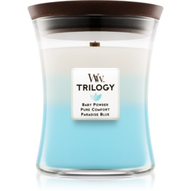 Woodwick Trilogy Fresh & Clean Scented Candle 275 g Medium
