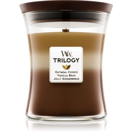 Woodwick Trilogy Spiced Confections Duftkerze  275 g mittlere