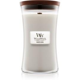 Woodwick Warm Wool świeczka zapachowa  609,5 g duża