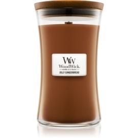 Woodwick Jolly Gingerbread illatos gyertya  609,5 g nagy