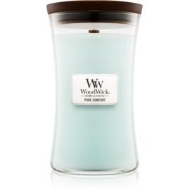 Woodwick Pure Comfort ароматна свещ  609,5 гр. голяма