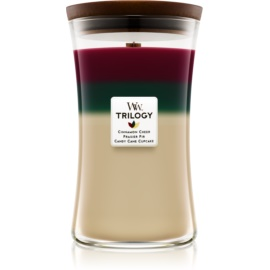 Woodwick Trilogy Christmas Classic illatos gyertya  609,5 g nagy