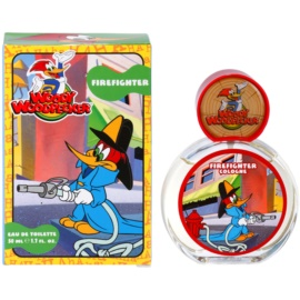 Woody Woodpecker Firefighter eau de toilette pentru copii 50 ml