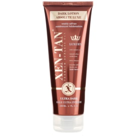Xen-Tan Ultra Dark leite autobronzeador para o corpo e rosto extra escuro  236 ml