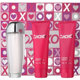 Xoxo Xoxo подарунковий набір І  Парфумована вода 100 ml + Молочко для тіла 100 ml + Гель для душу 100 ml
