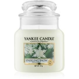 Yankee Candle Sparkling Snow lumanari parfumate  411 g Clasic mediu