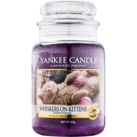 Yankee Candle Whiskers on Kittens Αρωματικό κερί 623 γρ Κλασικό μεγάλο