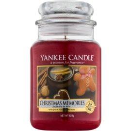 Yankee Candle Christmas Memories vonná svíčka 623 g Classic velká