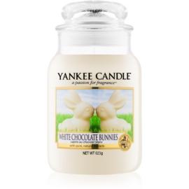 Yankee Candle White Chocolate Bunnies świeczka zapachowa  623 g Classic duża