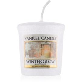 Yankee Candle Winter Glow votivna sveča 49 g